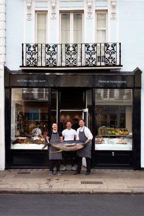 Notting Hill Fish Shop