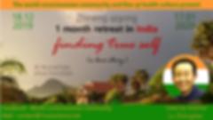 Zhineng QiGong retraite en Inde Decembre 2019