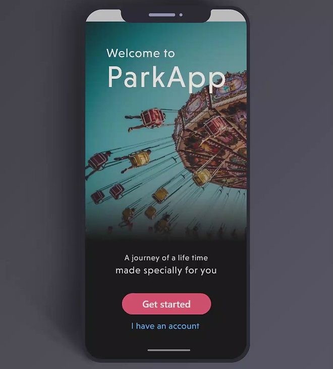 PARK APP PROTOTYPE VIDEO