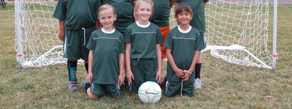 Soccer Team Green