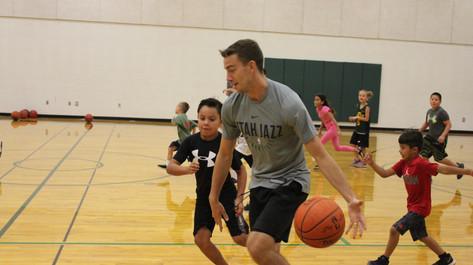 Utah Jazz with David Stockton