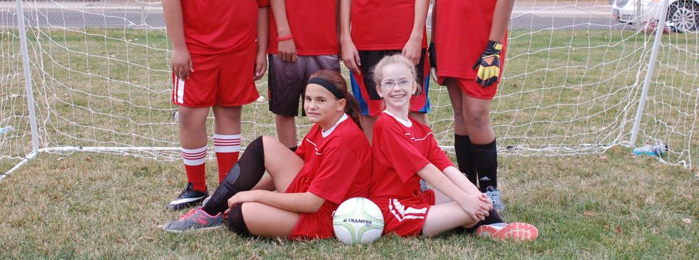 Soccer Team Red