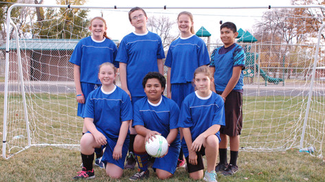 Soccer Team Royal Blue