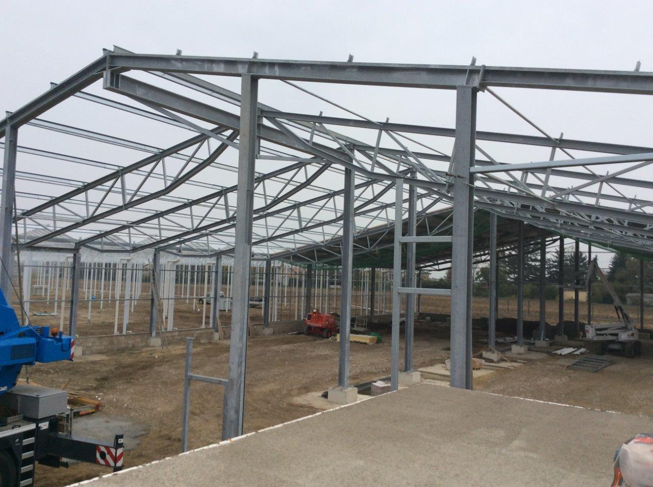 Hallenbau für Gartenbau Flicker