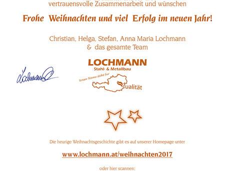 FROHE WEIHNACHTEN und VIEL ERFOLG im neuen Jahr!