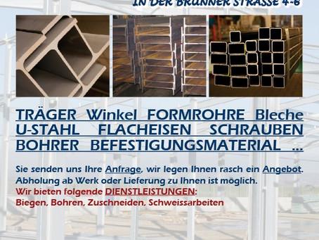 NEU: Eisenhandel Lochmann in der Brünner Straße 4-6