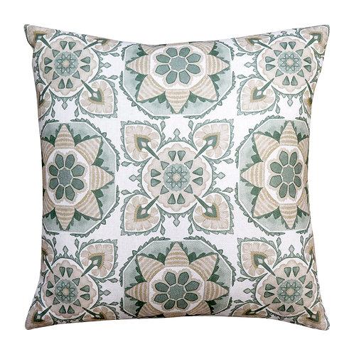Tile Green Cushion