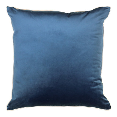 Clifton Ink Piped Cushion