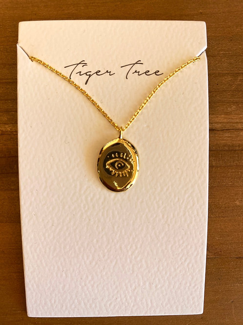 Gold I See You Necklace