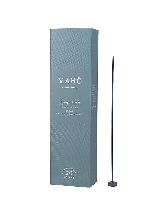MAHO sensory Sticks - Gypsy Wood Luxury Incense