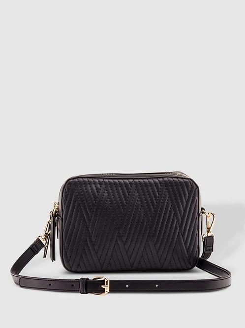Harlem Crossbody Bag- Black