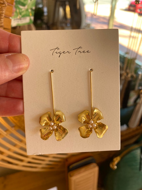 Wild and Wonderful Earrings Gold