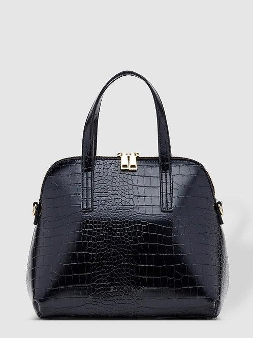Candice Black  Croc Handbag