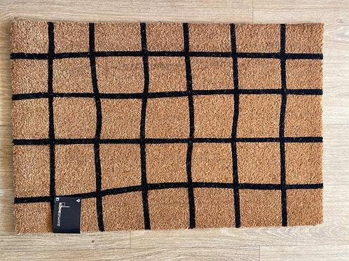 Grid pattern Doormat