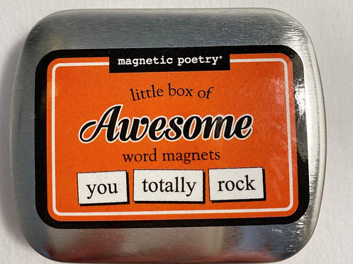 Magnetic Poetry - Awesome