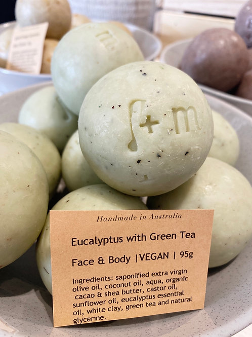 Eucalyptus with Green Tea Soap
