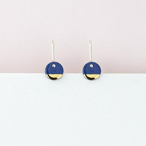 Erin Lightfoot Blue Spot Earrings