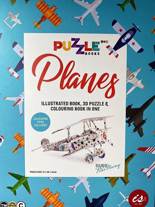 Planes puzzle book
