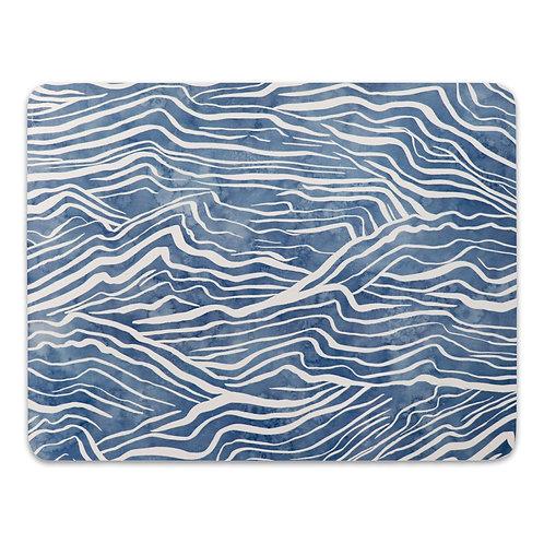 Waves Placemats Set 4
