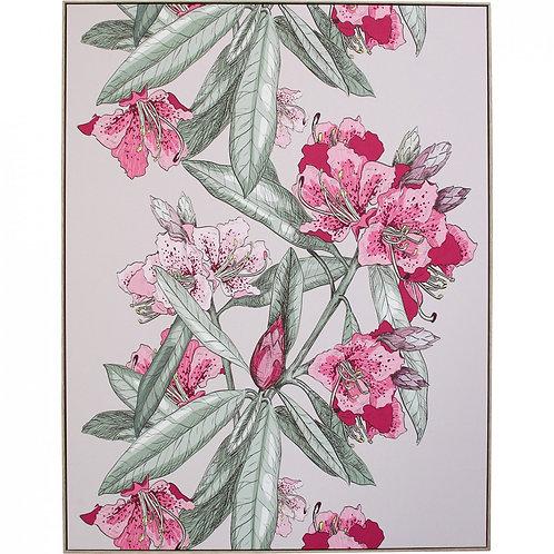 Blush Oleander Print