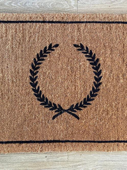 Large Crest Doormat