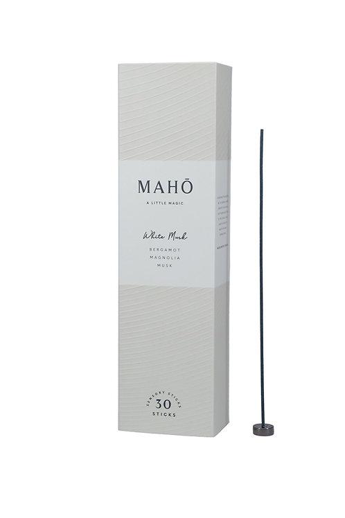 MAHO Sensory Sticks - White Musk Luxury Incense