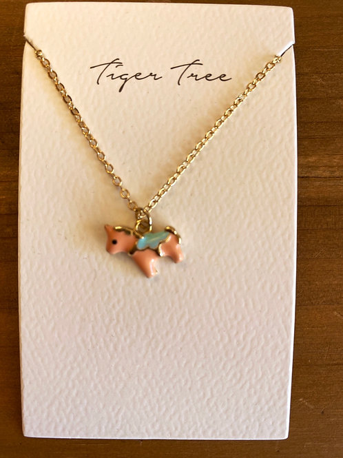 My First Pony Necklace Pink