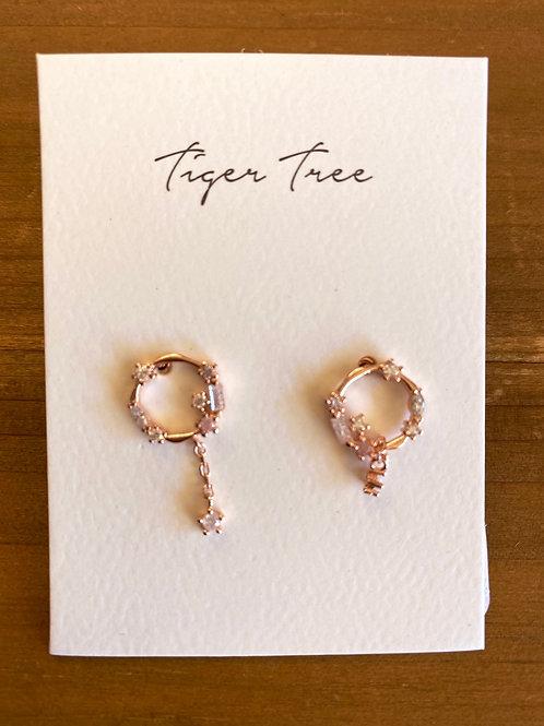 Hanging Crystal Earrings