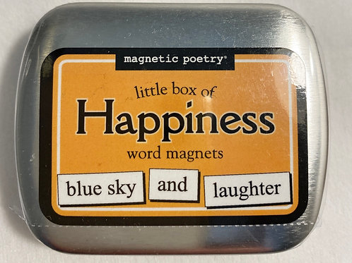 Magnetic Poetry - Little box of happiness