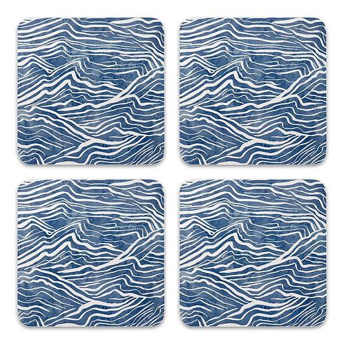 Waves Coasters Set 4