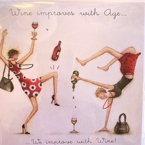 We improve with Wine Card