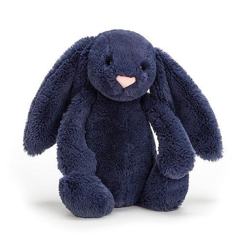 Bashful Bunny Navy Medium