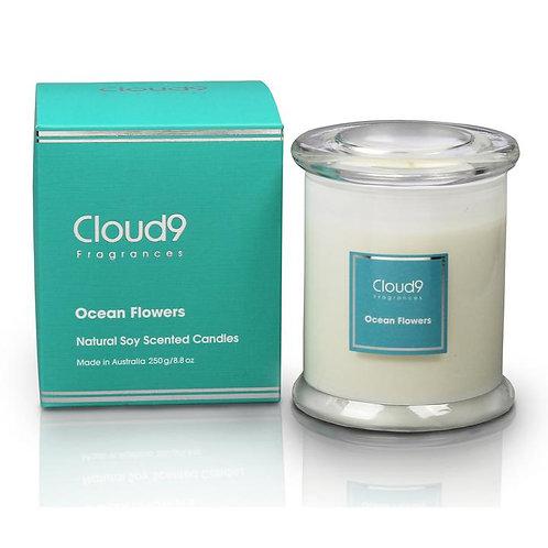 Cloud9 Candle Jar - Ocean Flowers