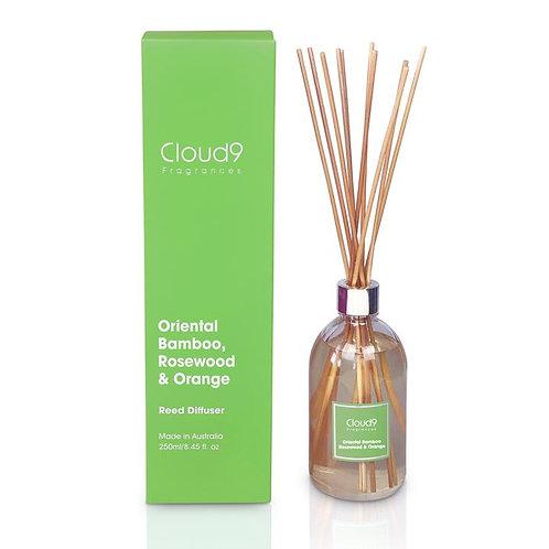 Cloud 9 Diffuser - Oriental Bamboo, Rosewood & Orange
