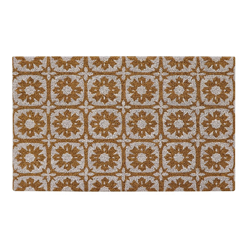 White Tile Doormat