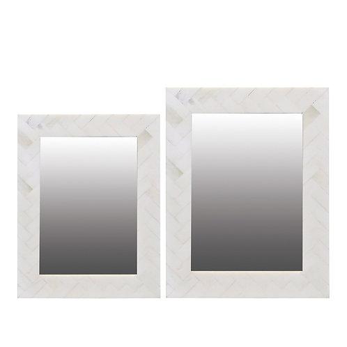 Avoca Cream Bone Inlay Frame