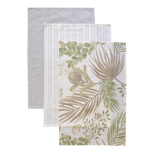 Stella Tea Towel Set 3