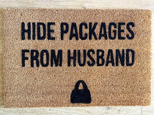 Hide Packages Doormat