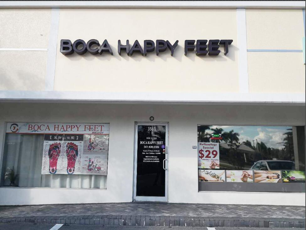 Boca Happy Feet