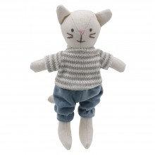 Wilberry Mini Boy Cat (stripey jumper)