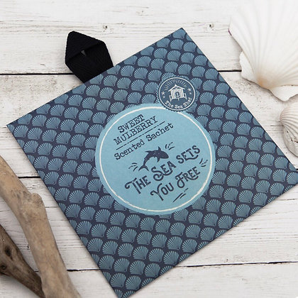 The Sea Shed Scented Sachet Sweet Mulberry