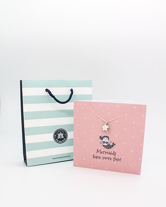 Sea Shed Jewellery Card