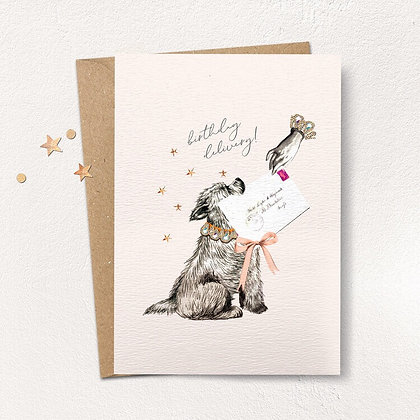 Birthday Delivery Dog Card