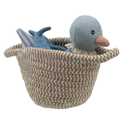 Wilberry Blue Duck in Basket