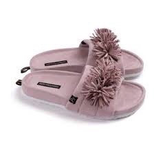 Pretty You Albany Slider Slipper Mink