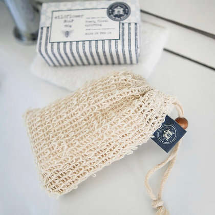 The Sea Shed Sisal Exfoliating Bag
