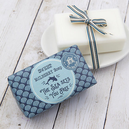 The Sea Shed Sweet Mulberry Soap 190g