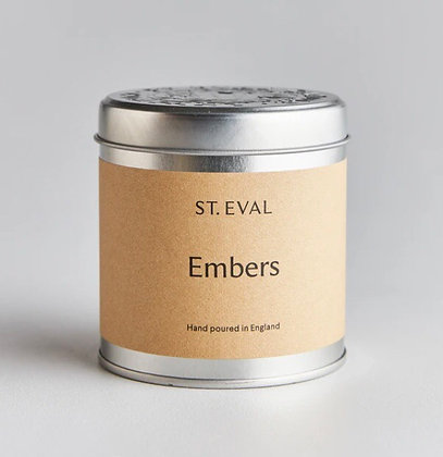 St. Eval Tinned Candle 'Embers'