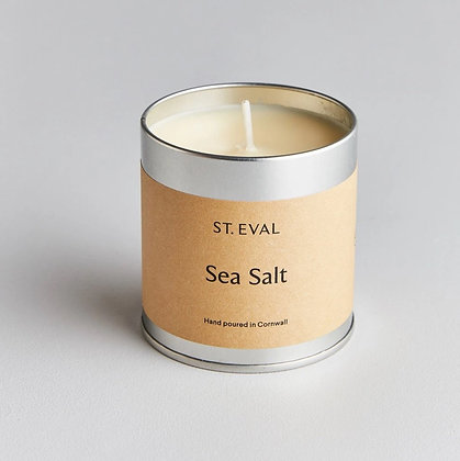 St. Eval Sea Salt Scented Tinned Candle