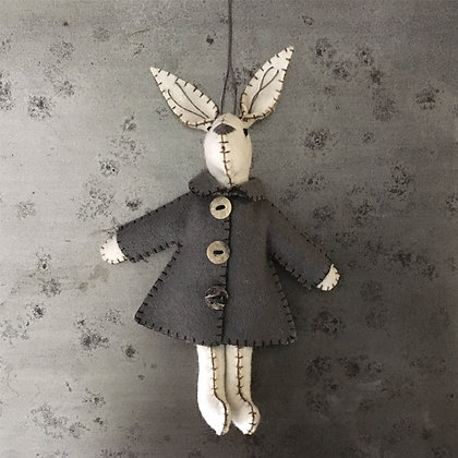 East of India Felt Rabbit